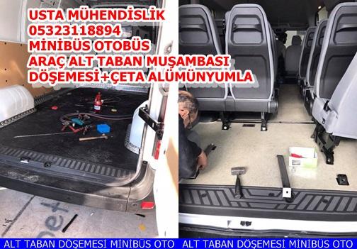 ALT TABAN DÖŞEMESİ MİNİBÜS OTOBÜS ARAÇLARA ANKARA OSTİM.++.DE.+