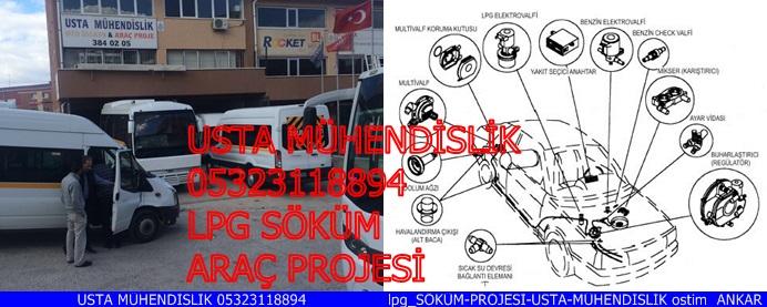 LPG SÖKÜM ARAÇ PROJESİ ANKARA  05323118894